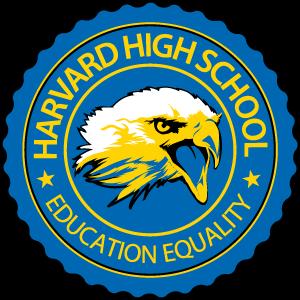 Harvard High School Logo